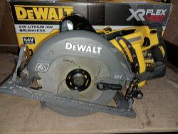 DEWALT DCS577T2-GB 190MM 54V 6.0AH LI-ION XR FLEXVOLT BRUSHLESS CORDLESS HIGH TORQUE CIRCULAR SAW