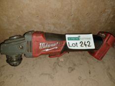 "MILWAUKEE M18 CAG115XPDB-0 FUEL 18V LI-ION 4½"""" BRUSHLESS CORDLESS ANGLE GRINDER - BARE UNCHECKED/"