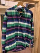 BRAND NEW CREW CLOTHING THORNLEY SLIM SHIRT SIZE MEDIUM RRP £65 - 9