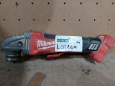"MILWAUKEE M18 CAG115XPDB-0 FUEL 18V LI-ION 4½"" BRUSHLESS CORDLESS ANGLE GRINDER (UNCHECKED,"