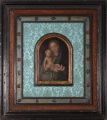 Flemish school from the 16th century. Virgin with Child.