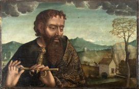 Castilian school,16th century. Saint Paul.