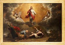 Italian school, 17th century. The Transfiguration.
