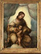 Flemish school,16th century. Virgin with Child.