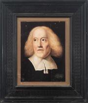Dutch school, 17th century. Male portrait.