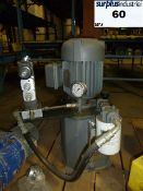 Hydraulic pump Brand: Montreal Hydraulique Model: 1.32 GPM Year: 2003 Item Location: Montreal