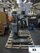 Coil unwinder (metal coils) Brand: Jaco With Baldor 1/3 HP motor Cat: VM3534-6 Item Location: