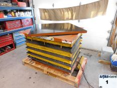 Hydrolic 360 deg Scissor Lift Table 110 volt