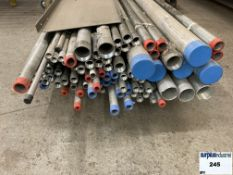 "Galvanized pipes and  aluminum 1 "", a 3""  Item Location: Montreal"