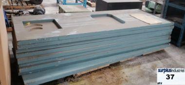 Paint chamber panels