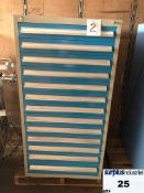 Industrial Metal Drawer Cabinet,14 drawers, 30 wide, 18 deep, 59 high. Item Location Montreal