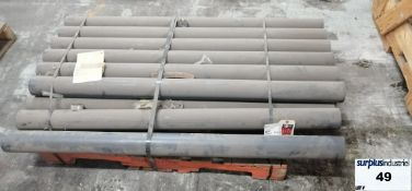 SIMONA PVC-CAW Solid Rod