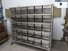 SMALL ANIMAL CAGES 60 CAGES PER TROLLEY
