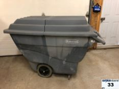 Rubbermaid utility cart with cover Item Location Montreal