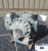 """DIAPHRAGM PUMP, 1"""" X 1"""" INLET & OUTLET, ALUMINUM Item Location : Laval -CAPACITY:0 TO 42 GPM (159"""