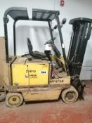 Hyster Electric Fork LiftFork *No Battery (UNKNOWN CONDITION ) Item Location Drummondville