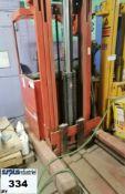 Fork Lift Brand :BT *unknow condition *no battery Item Location Drummondville