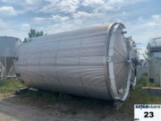 13 020 GALLON JACKETED TANK, CARBON STEEL, ULC-S630, INSULATED, VERTICAL Item Location : Laval -
