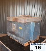 MORGAN FURNACE, ELECTRIC RESISTANCE BALE OUT FURNACE, MODEL HE ERBO M3 Item Location : Laval -