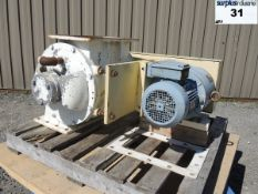 """ROTARY AIR LOCK VALVE, SIZE: 7"""" X 13"""", CARBON STEEL Item Location : Laval -MANUFACTURER:"""