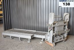 SANITARY HYDRAULIC DRUM DUMPER, ALL STAINLESS STEEL Item Location : Laval -ALL STAINLESS STEEL