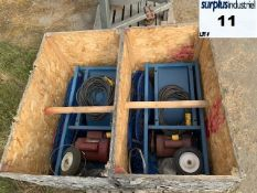 Lot of 2MOBILE ELECTRIC FANS Item Location : Laval