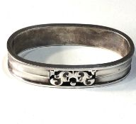 Georg Jensen silver napkin ring No110a in good condition