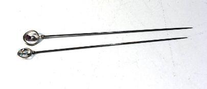 2 charles Horner hat pins