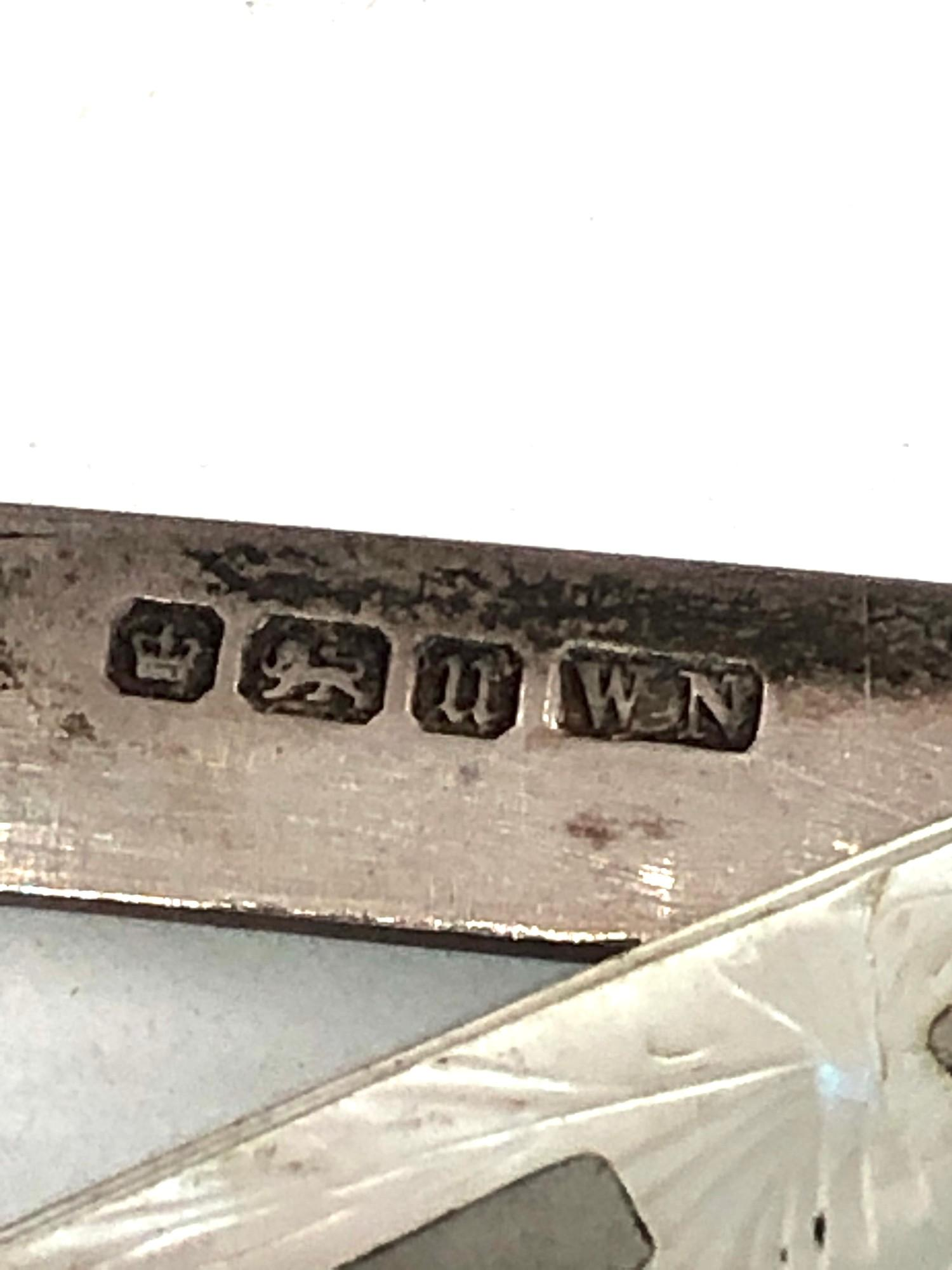 2 antique silver fruit knives - Image 4 of 4