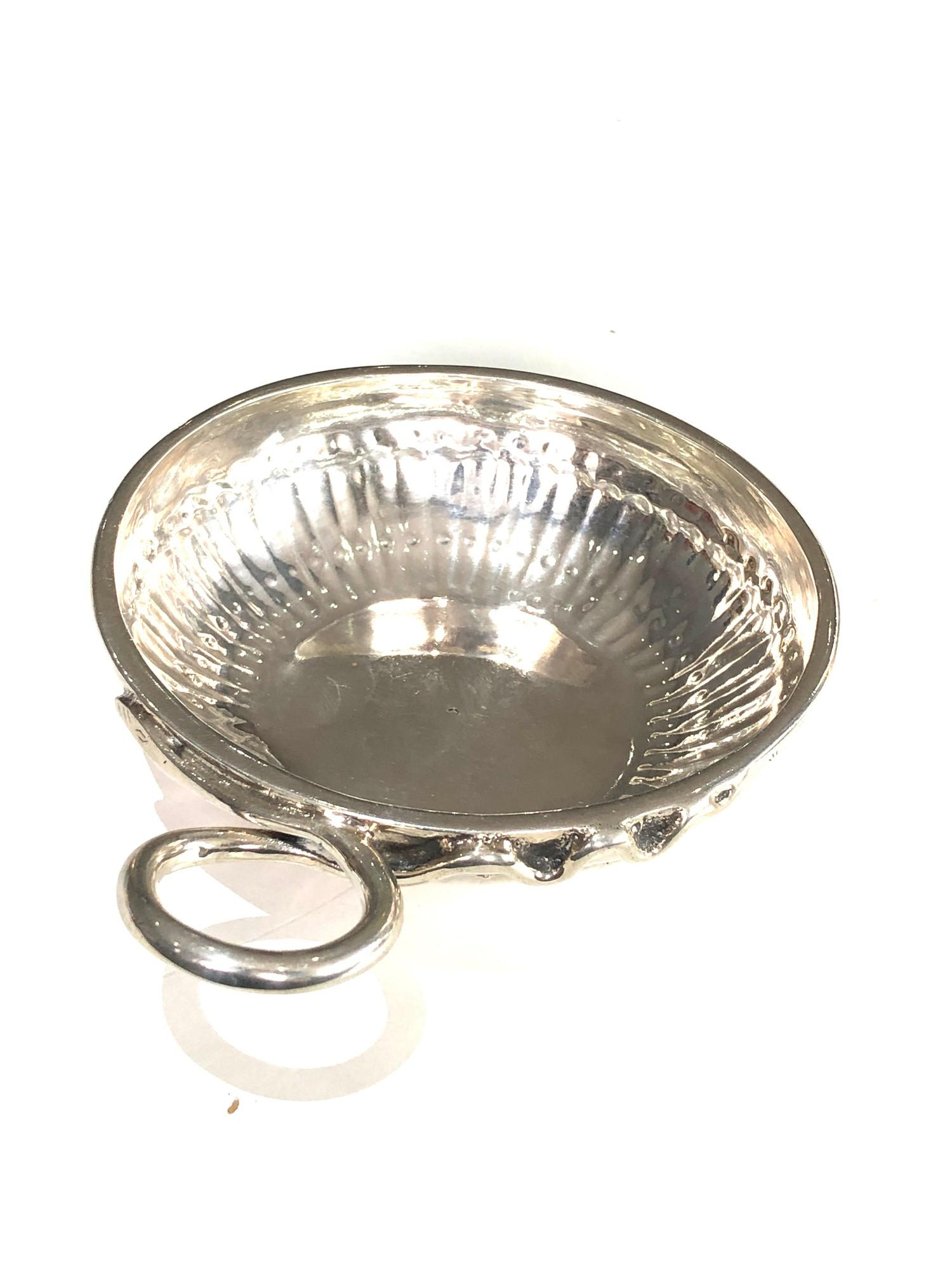 Fine 18th century French silver wine taster measures approx 12cm by bowl 9.5cm dia full hallmarks to - Image 2 of 7
