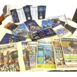 Selection of Leicester City memorabilia etc