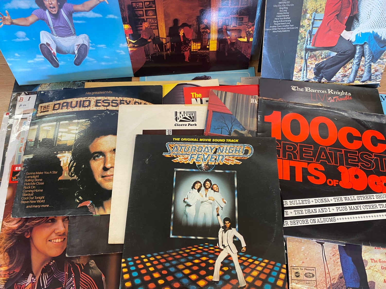 Selection of assorted records includes Elvis, Abba, Leo Sayer etc - Image 2 of 5