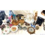 Large selection of miscellaneous pottery to include Sylvac hunting scene musical tankard, antique