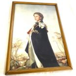 Framed picture of Her Majesty Queen Elizabeth 2nd