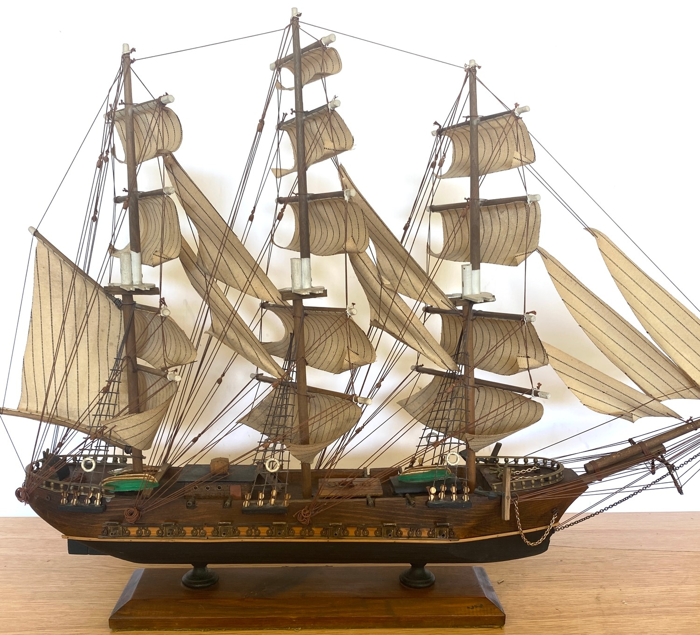 Model galleon Fragata siglo