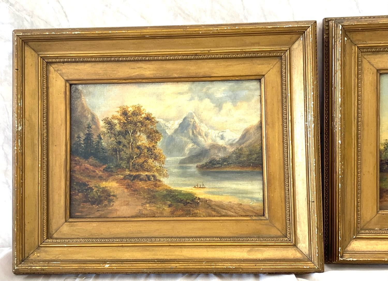2 Small vintage gilt framed pictures - Image 4 of 4