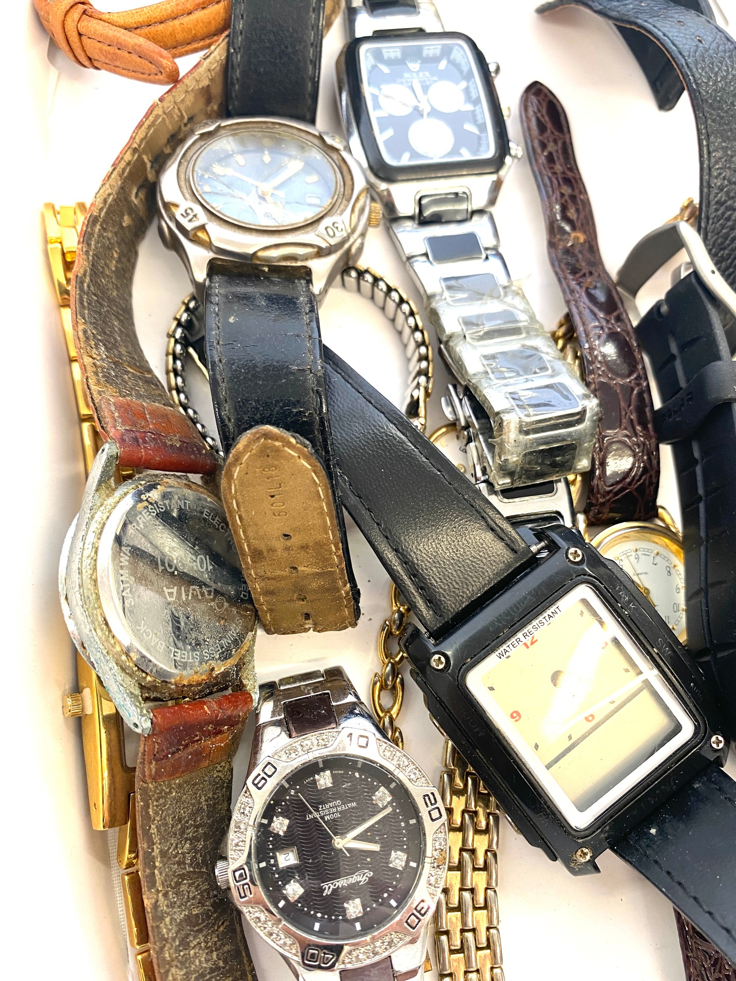 Tray of assorted watches all untested - Image 3 of 4