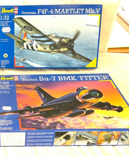 Selection of aircraft models in original boxes, Revell F-86D Sabre Dog, Blohm & Voss BV P-194, - Image 3 of 3
