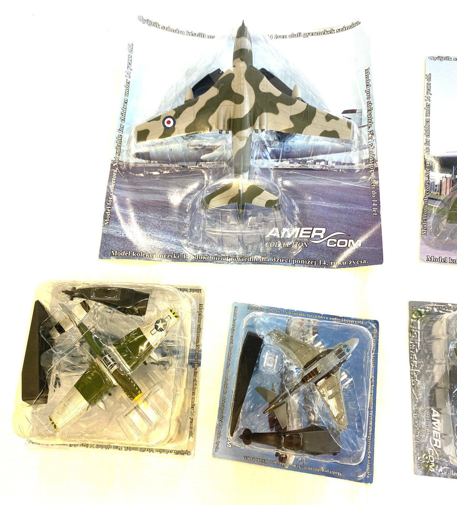 Selection of Boxed Amercom Air Craft models includes, North American p-51b, Vickers Valiant B Mk - Image 2 of 3