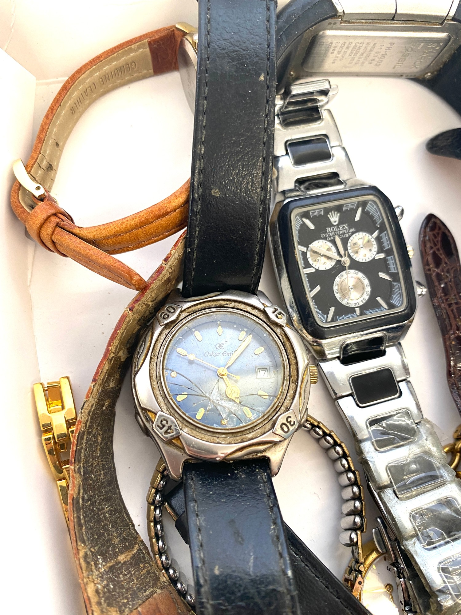 Tray of assorted watches all untested - Image 2 of 4