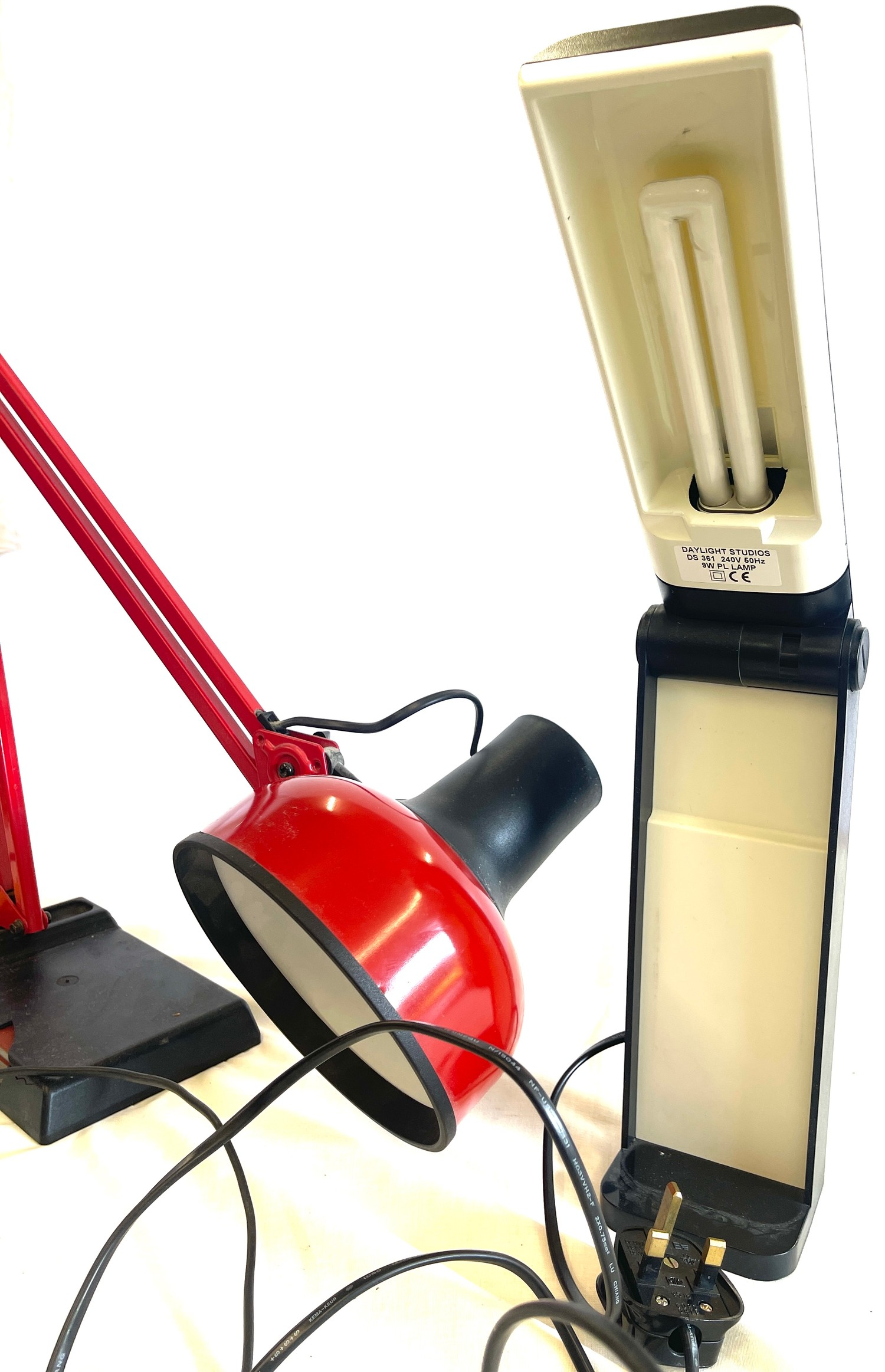 Anglepoise lamp and 1 other - Image 2 of 3