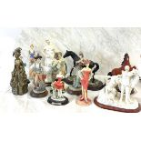 Large selection of miscellaneous figures
