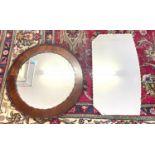 2 Antique mirrors,