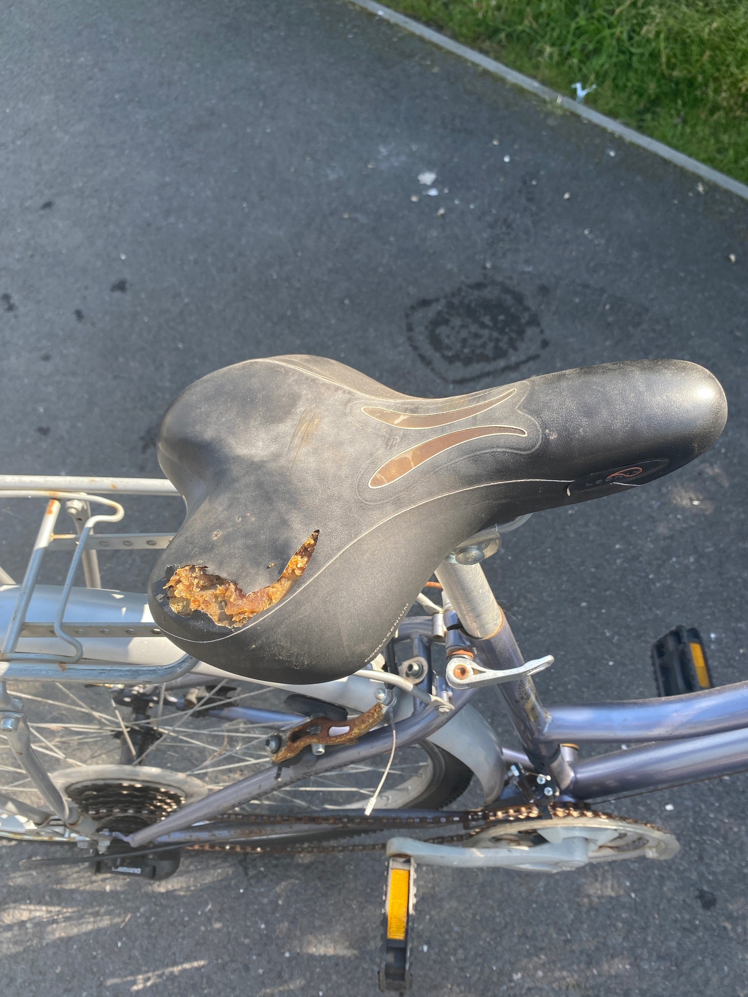 Windermere reflex ladies country bicycle - slight rip to seat - Image 2 of 2