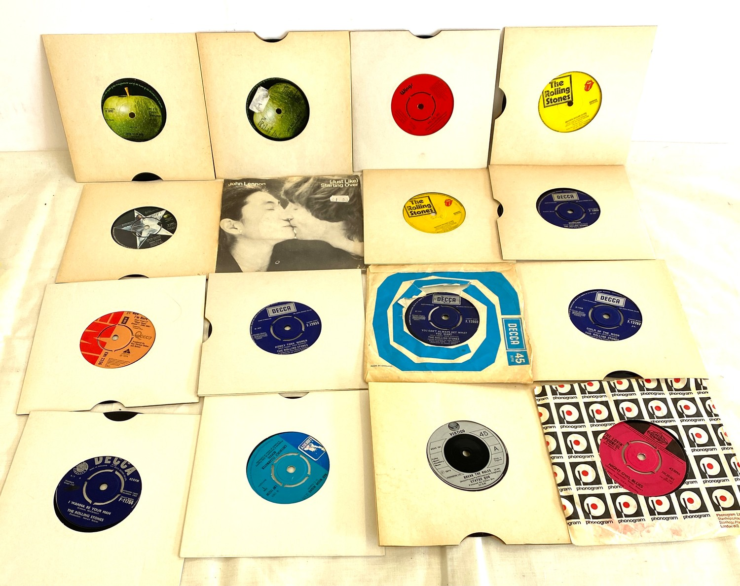 Selection of various 45's Lp's to include Rolling Stones etc - Image 5 of 5