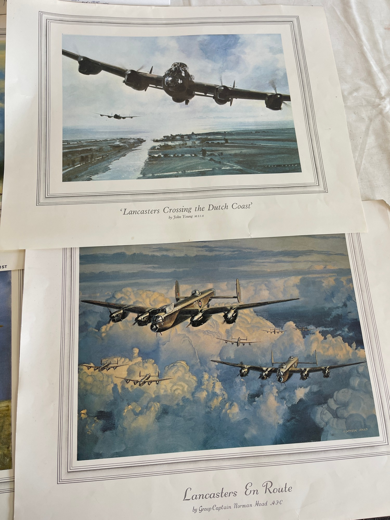 Selection of 5 Aircraft prints - Image 3 of 4