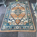 """Egypt Rug measures approx 71"""" long by 47"""" wide"""