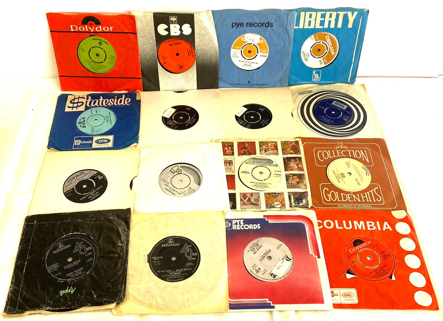 Selection of various 45's Lp's to include Rolling Stones etc - Image 2 of 5