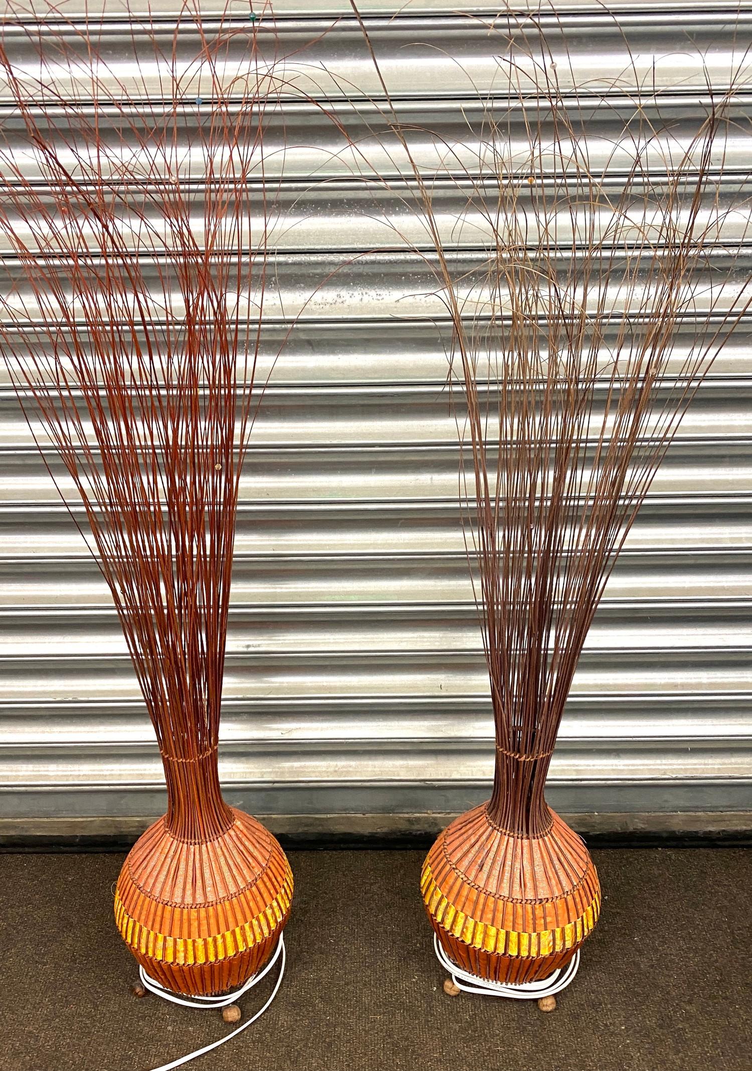 2 Orange onion lights, untested