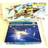 2 boxed craft models, Dassault Mirgage III 00185, Italeri Hudson Mk.IV/V